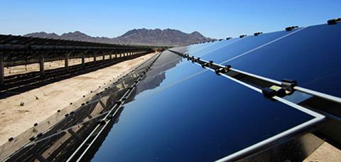 Paloma Solar Plant Panels