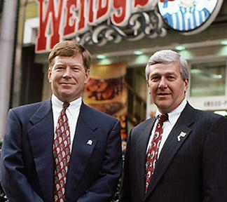 John Wright and Tom Morrell