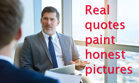 Real Quotes Paint Honest Pictures